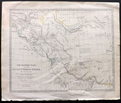SDUK 1831 Antique Map. The Eastern Part of the Ancient Persian Empire